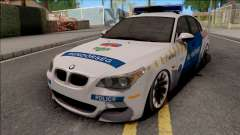 BMW M5 E60 Magyar Rendorseg для GTA San Andreas