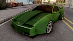 Pontiac Trans AM 1987 Green для GTA San Andreas