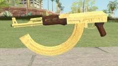 AK-47 Gold HQ для GTA San Andreas