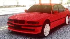 BMW 750IL Red для GTA San Andreas