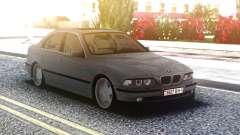 BMW 540i E39 4.4 V8 для GTA San Andreas