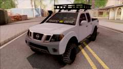 Nissan Frontier 4x4 Arazi Aracı для GTA San Andreas