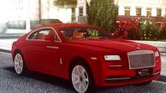 Rolls-Royce Wraith Red Coupe для GTA San Andreas