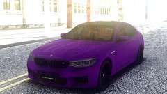 BMW M5 F90 Purple для GTA San Andreas