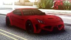 Ferrari FF Red для GTA San Andreas