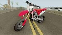 Honda CRF450R 2018 Motard для GTA San Andreas