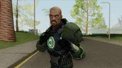 Green Lantern: John Stewart V2 для GTA San Andreas