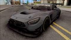 Mercedes-AMG GT3 2015 Paint Job Preset 2 для GTA San Andreas