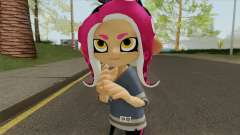 Octoling Girl Pink (Splatoon) для GTA San Andreas