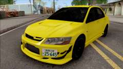 Mitsubishi Lancer EVO VII Initial D Fifth Stage для GTA San Andreas