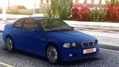 BMW M3 E46 Blue Coupe для GTA San Andreas