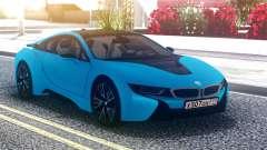 BMW i8 Blue для GTA San Andreas