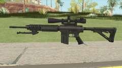 KAC SR-25 Semi Automatic Sniper Rifle для GTA San Andreas
