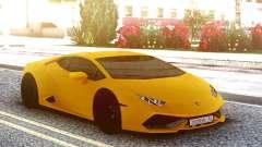 Lamborgini Huracan Yellow Original для GTA San Andreas
