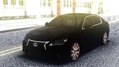 Lexus GS 350 Black для GTA San Andreas