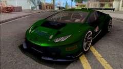 Lamborghini Huracan GT3 2015 Paint Job Preset 2 для GTA San Andreas