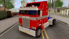 Kenworth K100 Optimus Prime Repintado  для GTA San Andreas