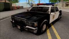 Chevrolet Caprice 1986 Police LVPD SA Style для GTA San Andreas