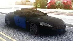 Aston Martin DB9 2013 LAPD для GTA San Andreas
