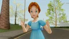 Wendy (Peter Pan) для GTA San Andreas