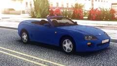 Toyota Supra Cabrio Blue для GTA San Andreas