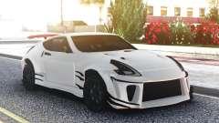 Nissan 370Z White Edition для GTA San Andreas