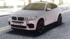 BMW X6M White Original для GTA San Andreas