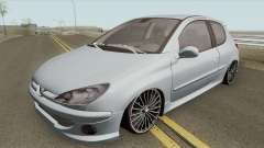 Peugeot 206 High Quality для GTA San Andreas
