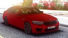 BMW M5 F90 Original Red для GTA San Andreas