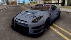 Nissan GT-R Nismo GT3 2014 Paint Job Preset 2 для GTA San Andreas