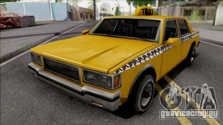 Declasse Taxi 1987 для GTA San Andreas