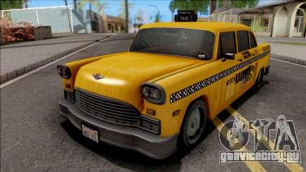 GTA III Declasse Cabbie VehFuncs Style для GTA San Andreas