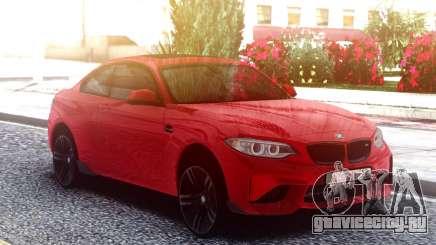 BMW M2 Red Original для GTA San Andreas