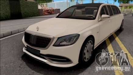 Mercedes-Maybach S650 Pullman 2019 для GTA San Andreas