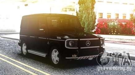 Mercedes-Benz G55 AMG Black Edition для GTA San Andreas