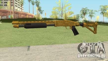 Shrewsbury Pump Shotgun (Luxury Finish) GTA V V4 для GTA San Andreas