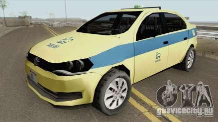 Volkswagen Voyage G6 Taxi Rio De Janeiro для GTA San Andreas