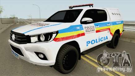 Toyota Hilux 2017 (PMMG) для GTA San Andreas