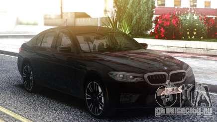 BMW M5 F90 Black Sedan для GTA San Andreas