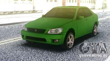 Lexus IS300 Green для GTA San Andreas