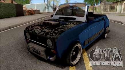 Renault 4 GTL Custom для GTA San Andreas