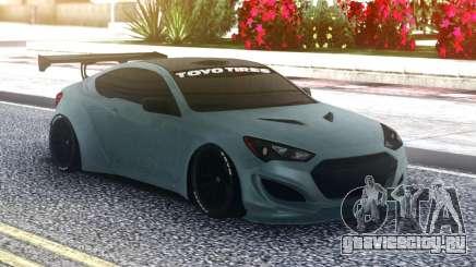 Hyundai Genesis Coupe Original для GTA San Andreas