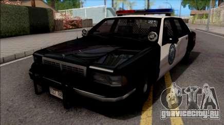 Chevrolet Caprice 1992 Police LSPD SA Style для GTA San Andreas