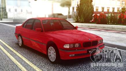 BMW 730i Original Red для GTA San Andreas