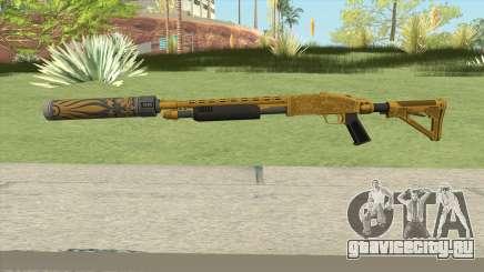Shrewsbury Pump Shotgun (Luxury Finish) GTA V V6 для GTA San Andreas