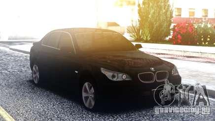 BMW 530XD E60 Black для GTA San Andreas