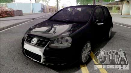 Volkswagen Golf R32 Black для GTA San Andreas