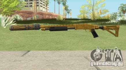 Shrewsbury Pump Shotgun (Luxury Finish) GTA V V3 для GTA San Andreas