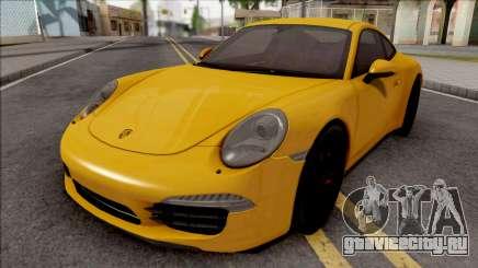Porsche 911 Carrera S Yellow для GTA San Andreas