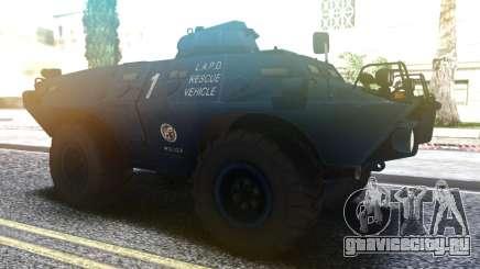 Cadillac V-100 Gage Commando LAPD.LSPD.SAPD для GTA San Andreas